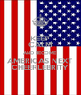 KEEP CALM AND BECOME AMERICAS NEXT CHEERLEBRITY - Personalised Poster A4 size