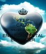 KEEP CALM  AND BECOME AN  ENVIRONMENTAL  ENGINEER - Personalised Poster A4 size