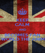 KEEP CALM AND BECOMES FAN OF WORLD THE ANIMAL - Personalised Poster A4 size