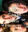 KEEP CALM AND Befis Forever  - Personalised Poster A4 size