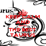 KEEP CALM AND BEING THE BEST  TAURUS - Personalised Poster A4 size