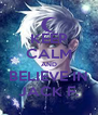 KEEP CALM AND BELIEVE IN JACK F. - Personalised Poster A4 size