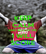 KEEP CALM AND BELIEVE ME I WILL SCORE - Personalised Poster A4 size