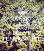 KEEP CALM AND BELIVE FENERBAHCE - Personalised Poster A4 size
