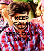 KEEP CALM AND BERK QALP ARYA - Personalised Poster A4 size