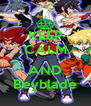 KEEP CALM  AND Beyblade - Personalised Poster A4 size