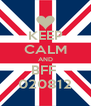 KEEP CALM AND BFF  020812 - Personalised Poster A4 size