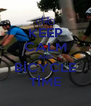 KEEP CALM AND BİCYCLE TİME - Personalised Poster A4 size