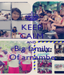 KEEP CALM AND Big family Of arnambe - Personalised Poster A4 size