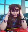KEEP CALM AND Biri siksin la şunu - Personalised Poster A4 size