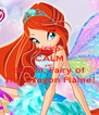 KEEP CALM AND Bloom, Fairy of The Dragon Flame! - Personalised Poster A4 size