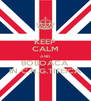KEEP CALM AND BOBOACA IN C.N.G.TITEICA - Personalised Poster A4 size