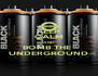 KEEP CALM AND BOMB THE  UNDERGROUND - Personalised Poster A4 size