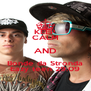KEEP CALM AND Bonde da Stronda Eazy teen 29.09 - Personalised Poster A4 size
