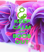 KEEP CALM AND BOOB OUT - Personalised Poster A4 size