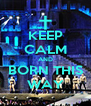 KEEP CALM AND BORN THIS WAY - Personalised Poster A4 size