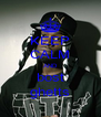 KEEP CALM AND bost ghetts - Personalised Poster A4 size