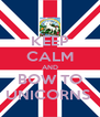 KEEP CALM AND BOW TO UNICORNS  - Personalised Poster A4 size