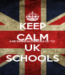 KEEP CALM AND BRING BOXING BACK TO UK SCHOOLS - Personalised Poster A4 size