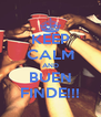 KEEP CALM AND BUEN FINDE!!! - Personalised Poster A4 size