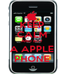 KEEP CALM AND BUY A APPLE PHONE - Personalised Poster A4 size
