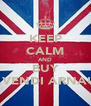 KEEP CALM AND BUY AVENDI ARNAU - Personalised Poster A4 size