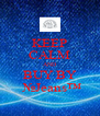 KEEP CALM AND BUY BY  №Jeans™ - Personalised Poster A4 size