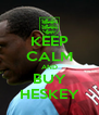KEEP CALM AND BUY HESKEY - Personalised Poster A4 size