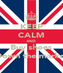 KEEP CALM AND Buy shoes Down the market - Personalised Poster A4 size