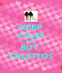 KEEP CALM AND BUY  STILETTOS - Personalised Poster A4 size