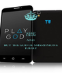 KEEP CALM AND BUY THE GOD OF SMARTPHONE TODAY - Personalised Poster A4 size