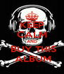 KEEP CALM AND  BUY THIS  ALBUM - Personalised Poster A4 size