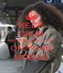 KEEP CALM AND BUY YOUR TICKET ON YOUR MOBILE - Personalised Poster A4 size