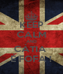 KEEP CALM AND CÁTIA  É FOFA ! - Personalised Poster A4 size