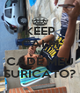 KEEP CALM AND CADÊ MEU SURICATO? - Personalised Poster A4 size