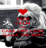 KEEP CALM AND CAKE LIKE LADY GAGA THE BEST - Personalised Poster A4 size