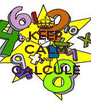 KEEP CALM AND CALCULE  - Personalised Poster A4 size