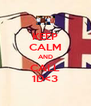 KEEP CALM AND CALL 1D<3 - Personalised Poster A4 size