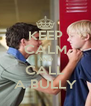 KEEP CALM AND CALL A BULLY - Personalised Poster A4 size