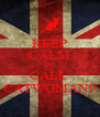 KEEP CALM AND CALL  CATWOMAN!! - Personalised Poster A4 size