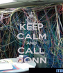 KEEP CALM AND CALL DONN - Personalised Poster A4 size
