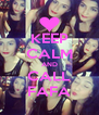 KEEP CALM AND CALL FAFA - Personalised Poster A4 size
