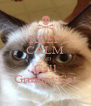 KEEP CALM AND Call GrumpyCat - Personalised Poster A4 size