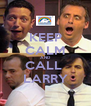 KEEP CALM AND CALL  LARRY - Personalised Poster A4 size