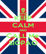 KEEP CALM AND CALL Me SIOPAO - Personalised Poster A4 size