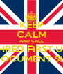 KEEP CALM AND CALL SHRED FIRST UK ON-SITE DOCUMENT SHREDDING - Personalised Poster A4 size