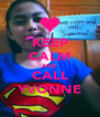KEEP CALM AND CALL YVONNE - Personalised Poster A4 size