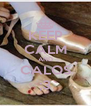 KEEP CALM AND CALOS ;3 - Personalised Poster A4 size