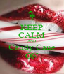 KEEP CALM AND Candy Cane ON - Personalised Poster A4 size