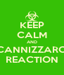 KEEP CALM AND CANNIZZARO REACTION - Personalised Poster A4 size